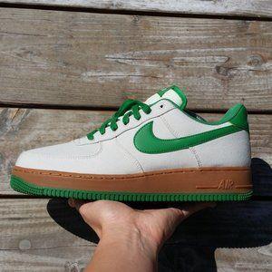 2007 Air Force 1 TXT Light Bone Aloe Verde Sneaker